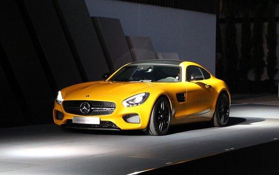 "AFP/""Scanpix"" nuotr./""Mercedes AMG GT"""