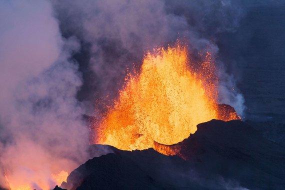 "AFP/""Scanpix"" nuotr./Baurdarbungos ugnikalnis"
