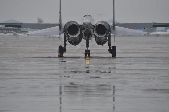 """Scanpix""/""SIPA"" nuotr./""Sukhoi Su-35"" naikintuvas"