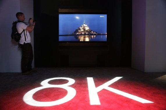 """Scanpix""/AP nuotr./""Sharp 8K"" LED televizorius"