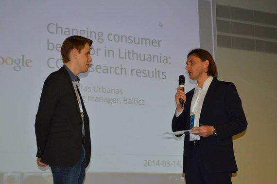 """Irma Korsakaitė nuotr./Konferencijoje """"E-komercija 2014"""""""