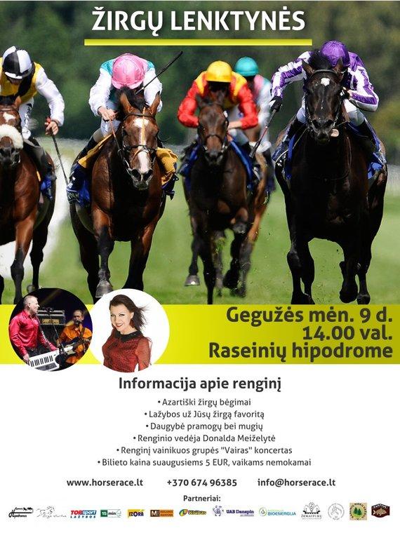 Horserace.lt nuotr./Žirgų lenktynės Raseinių hipodrome