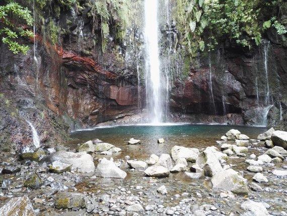 15min.lt/Audriaus Gavėno nuotr./Krioklys Madeiroje
