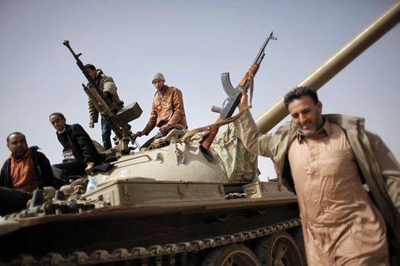 """AFP/""""Scanpix"""" nuotr./Libijos sukilėliai 2011 m."""