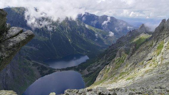 Audriaus Gavėno / 15min nuotr./Aukštieji Tatrai iš Lenkijos pusės