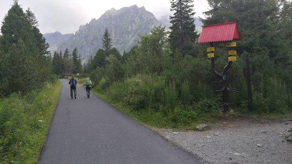 Audrius Gavėnas / 15min nuotr./Aukštieji Tatrai iš Slovakijos pusės