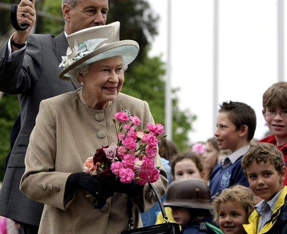 "AFP/""Scanpix"" nuotr./Didžiosios Britanijos karalienė Elizabeth II"
