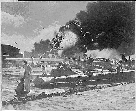 """""""Reuters""""/""""Scanpix"""" nuotr./JAV kariai Perl Harbore 1941 m. gruodžio 7 d."""