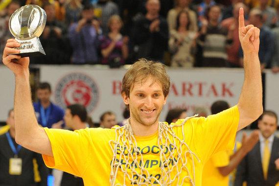 """AFP/""""Scanpix"""" nuotr./Zoranas Planiničius pripažintas naudingiausi finalo ketverto žaidėju"""