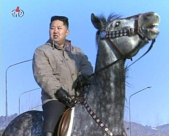 Reuters / Photo by Scanpix / Kim Jong Un