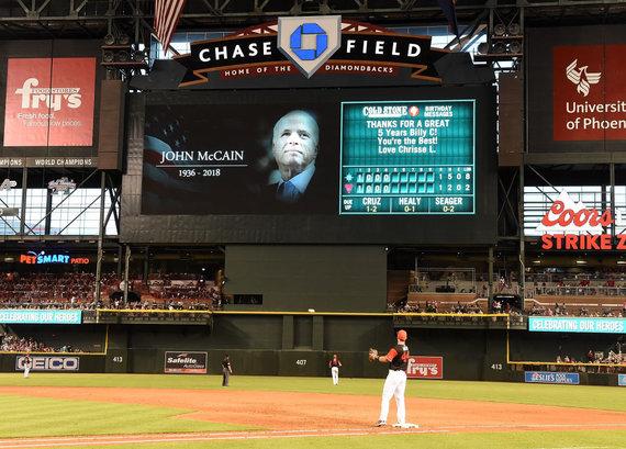 """AFP/""""Scanpix"""" nuotr./Mirė Johnas McCainas"""