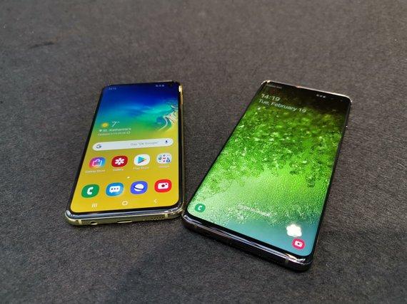 """Samsung Galaxy S10"" pristatymas"