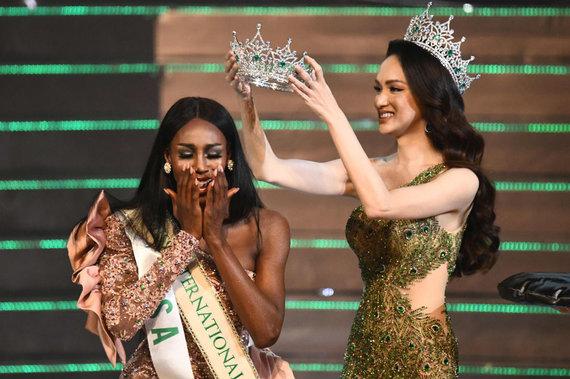 """AFP/""""Scanpix"""" nuotr./Konkurso nugalėtoja Jazell Barbie Royale"""