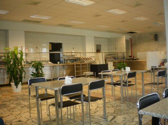 V.Voskoboinikovo nuotr. /IAE valgykla įrengta atskirame pastate