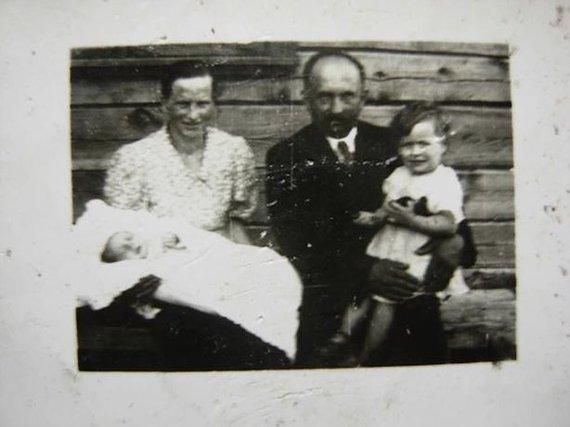 Asmeninio archyvo nuotr./Jurgis Vilės tėtis kūdikystėje