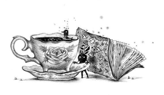 """Knygos """"Klampynių kronikos"""" iliustracija"""