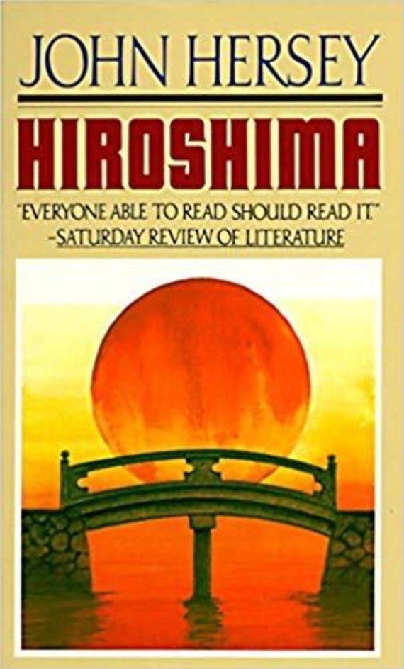 """Knygos viršelis/Knyga """"Hiroshima"""""""