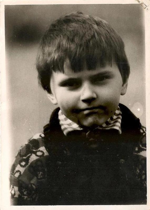Asmeninio archyvo nuotr./Virgis Šidlauskas 1990 metais