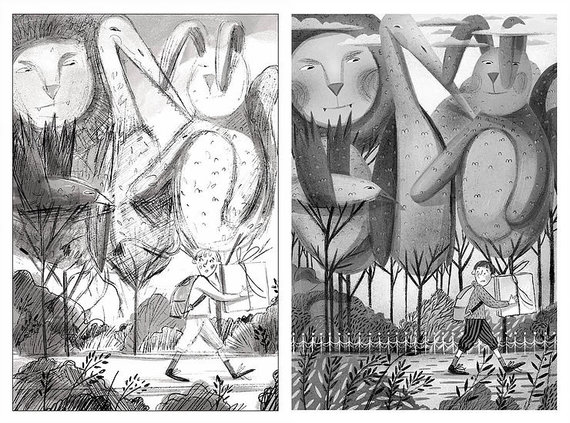 Tanios Rex kurta iliustracija