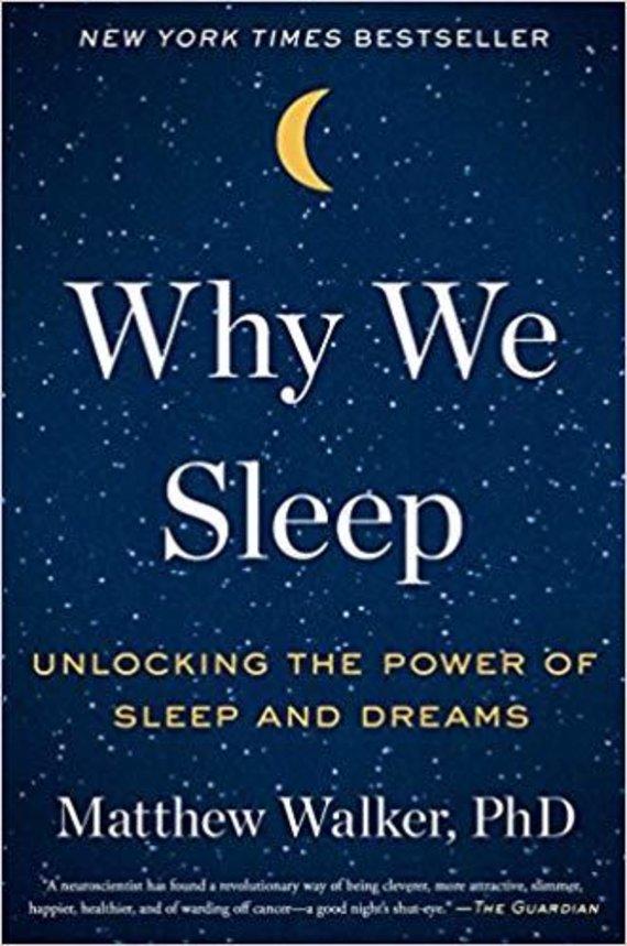 "Knygos viršelis/Knyga ""Why We Sleep"""
