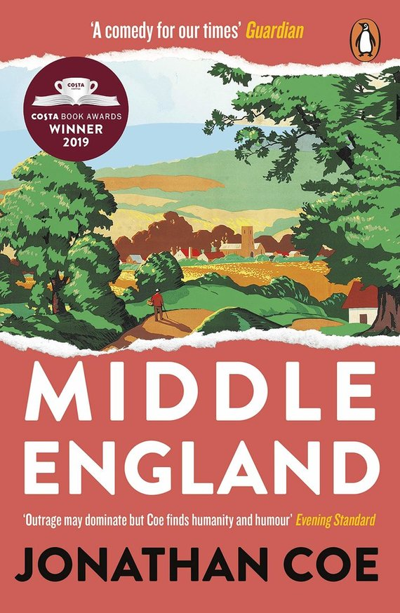 """Knygos viršelis/Knyga """"Middle England"""""""