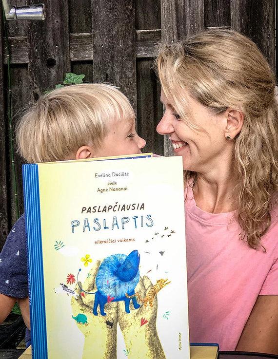 Asmeninio archyvo nuotr./Evelina Daciūtė su sūnumi