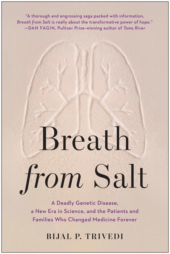 """Knygos viršelis/Knyga """"Breath from Salt: A Deadly Genetic Disease, a New Era in Science, and the Patients and Families Who Changed Medicine"""""""
