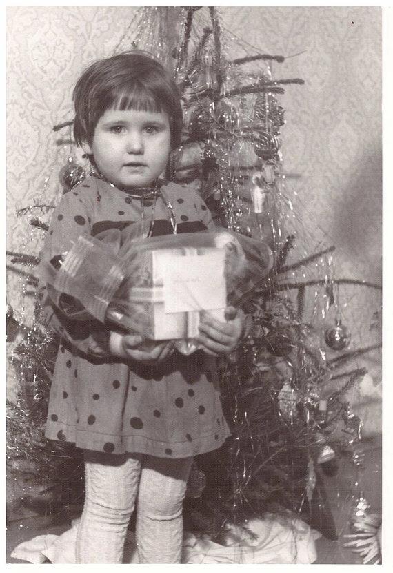 Asmeninio archyvo nuotr./Diana Ganc vaikystėje