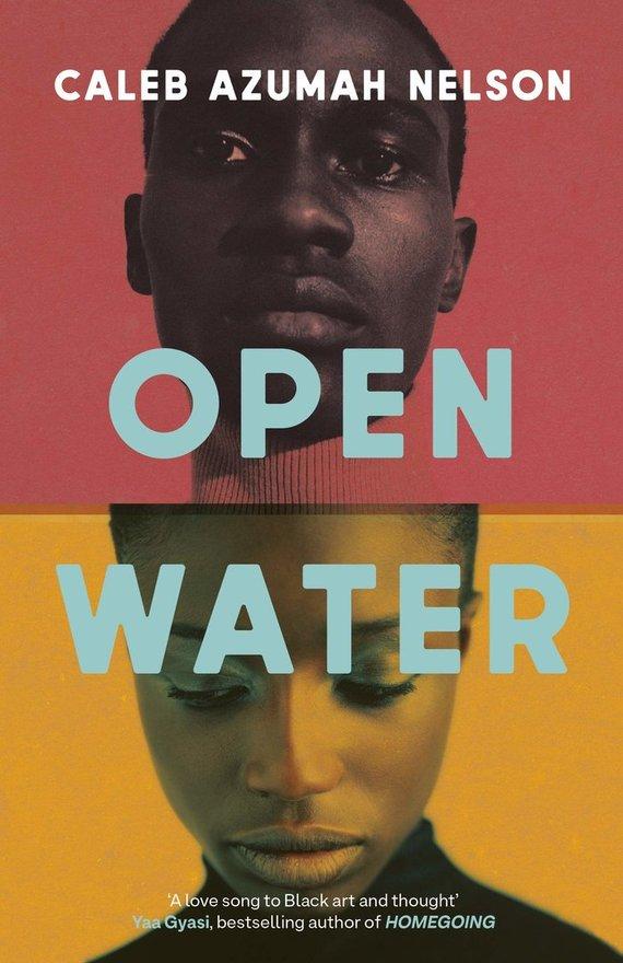 "Knygos viršelis/Knyga ""Open Water"""