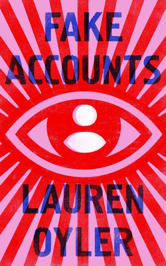 "Knygos viršelis/Knyga ""Fake Accounts"""