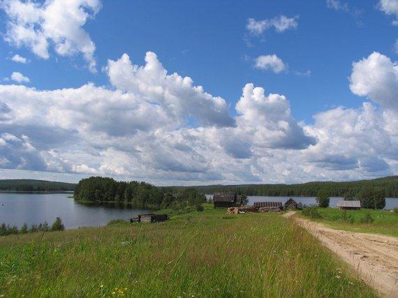 Wikimedia.org nuotr./Kaimas Karelijoje