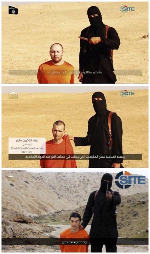 """""""Reuters""""/""""Scanpix"""" nuotr./Džihadistas Johnas"""