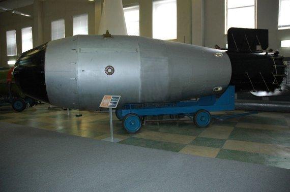 Wikipedia nuotr./Ivano bombos modelis
