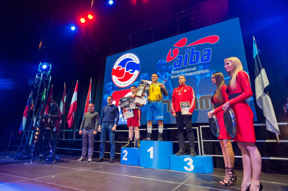 Alfredo Pliadžio nuotr./Dano Pozniako bokso turnyro finalai
