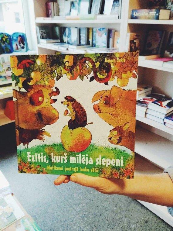 """""""Tikra knyga"""" nuotr./Dainiaus Šukio knyga """"Ežys, kuris mylėjo slapta"""""""
