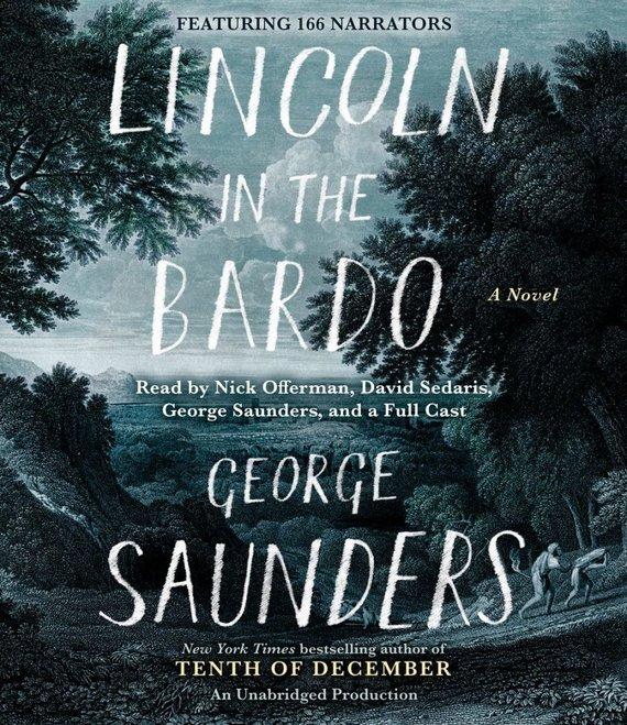 """Knygos viršelis/Knyga """"Lincoln in the Bardo"""""""