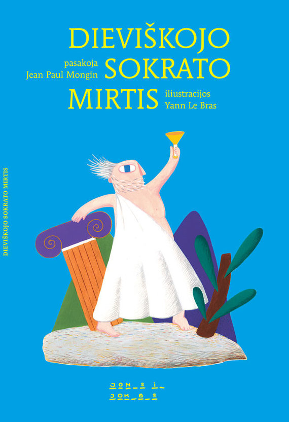 """Knygos viršelis/Knyga """"Dieviškojo Sokrato mirtis"""""""