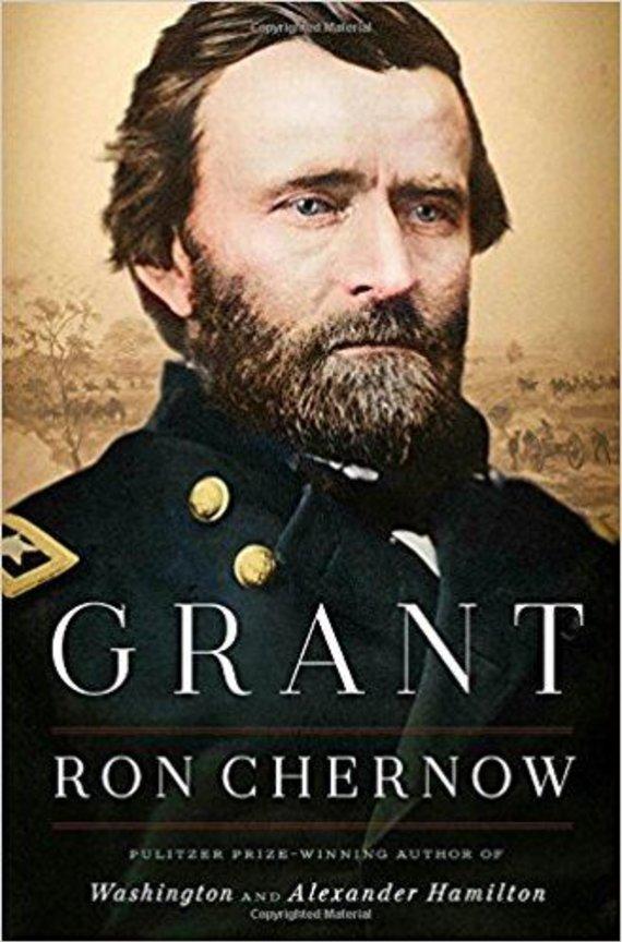 "Knygos viršelis/Knyga ""Grant"""
