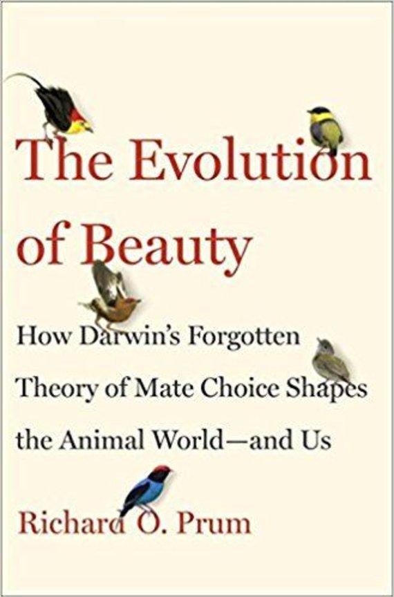 "Knygos viršelis/Knyga ""The Evolution of Beauty"""