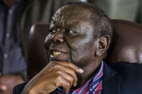 "AFP/""Scanpix"" nuotr./Morganas Tsvangirai"