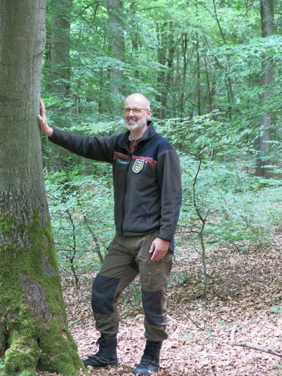 """Asmeninio archyvo nuotr./Knygos """"Paslaptingas medžių gyvenimas"""" autorius Peteris Wohllebenas"""