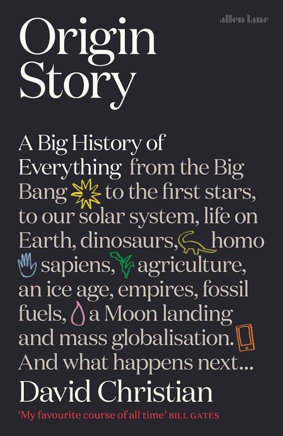 "Knygos viršelis/Knyga ""Origin Story: A Big History of Everything"""