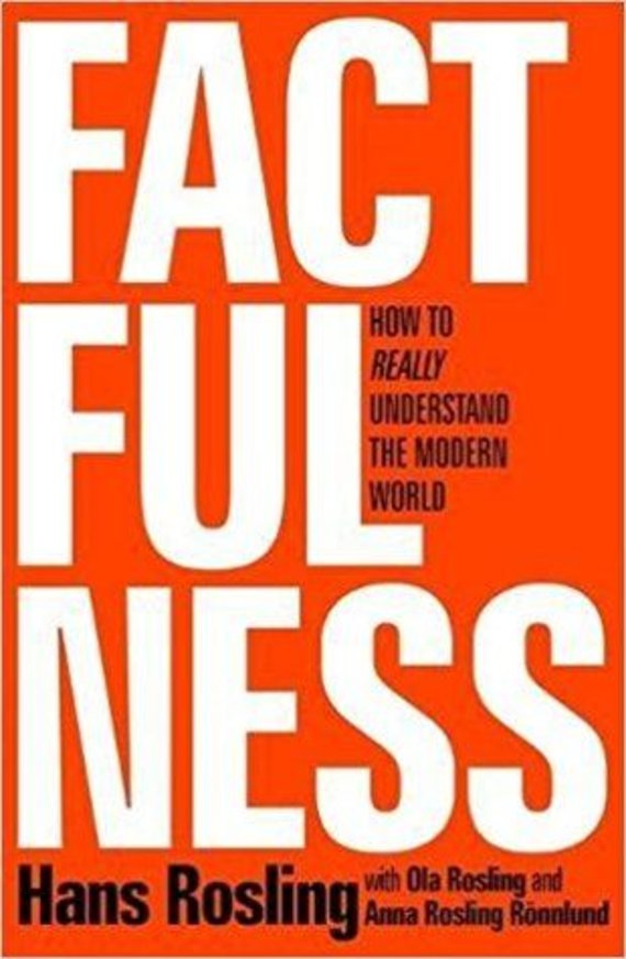 "Knygos viršelis/Knyga ""Factfulness"""