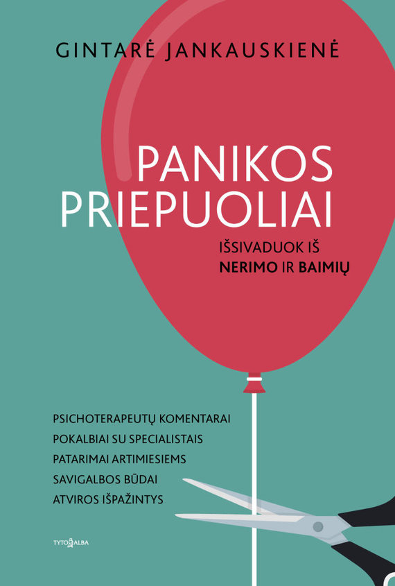 """Knygos viršelis/Knyga """"Panikos priepuoliai. Išsivaduok iš nerimo ir baimių"""""""