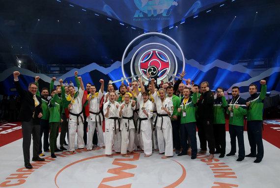 Algimanto Barzdžiaus nuotr./2017 metų Kiokušin pasaulio sąjungos (KWU) pasaulio čempionatas
