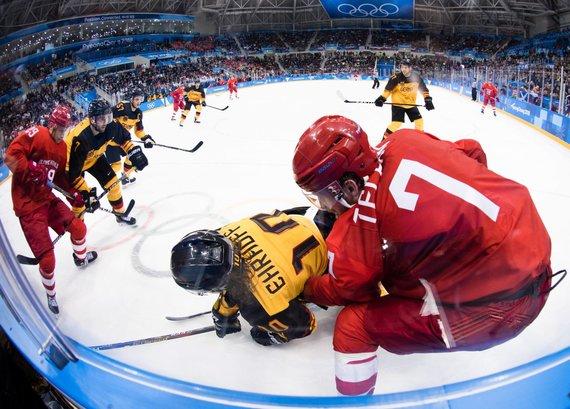 """""""Scanpix"""" nuotr./Vokietija – Olimpiniai atletai iš Rusijos"""
