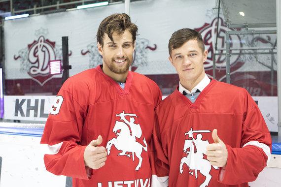 Hockey.lt nuotr./Mantas Armalis ir Nerijus Ališauskas