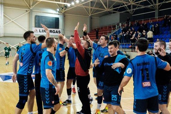 Facebook.com/KTU.handball nuotr./KTU rankininkai
