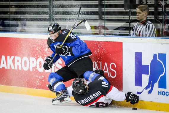 Hockey.lt nuotr./Estija – Japonija