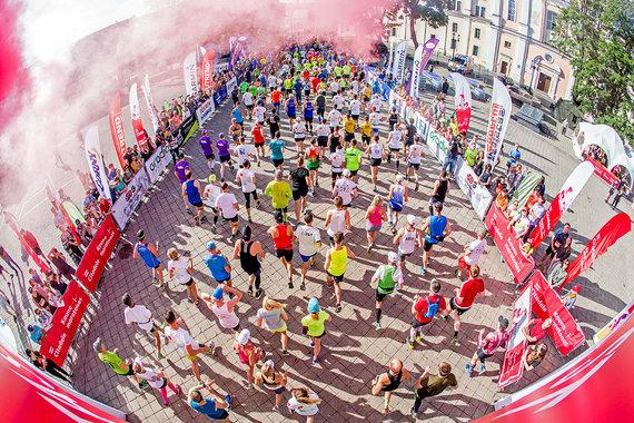 Augusto Didžgalvio nuotr./Kauno maratonas 2018